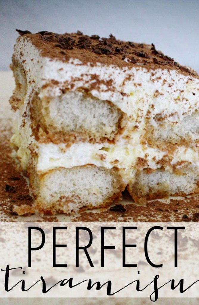 The best tiramisu recipe we've found!