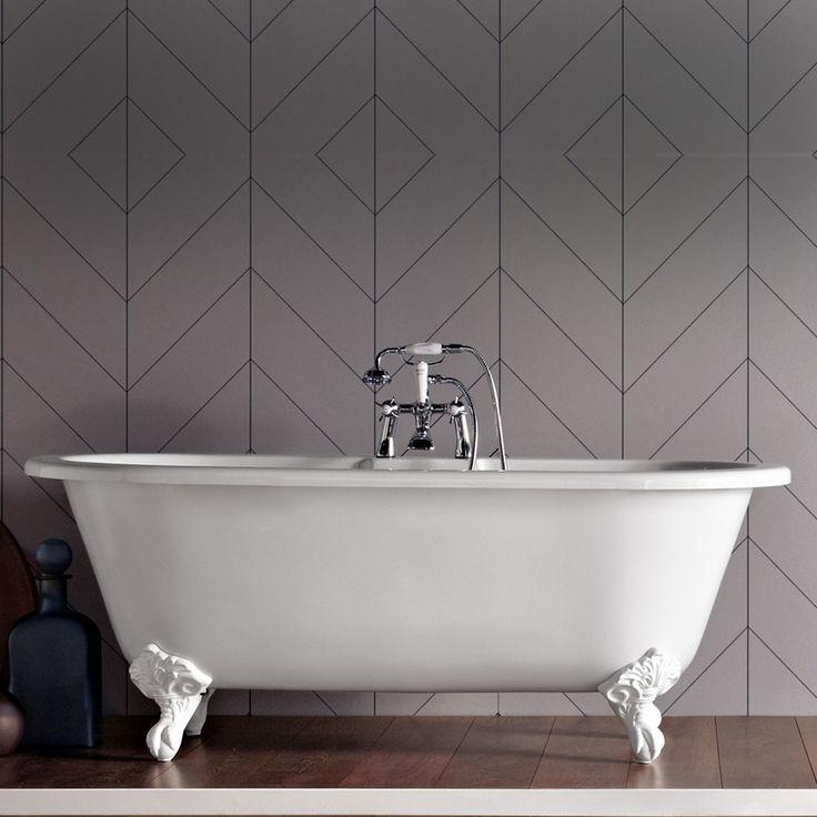 Trend Freestanding 1500Mm Bath With Surround Panel | bathstore