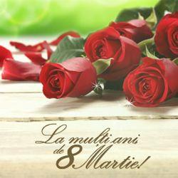 E ziua ta... Sa ai o zi plina cu bucurii! La multi ani, de 8 Martie! http://ofelicitare.ro/felicitari-de-8-martie/trandafiri-de-8-martie-786.html