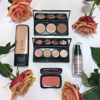 Natural skin tutorial using LOV cosmetics. Natural beauty look