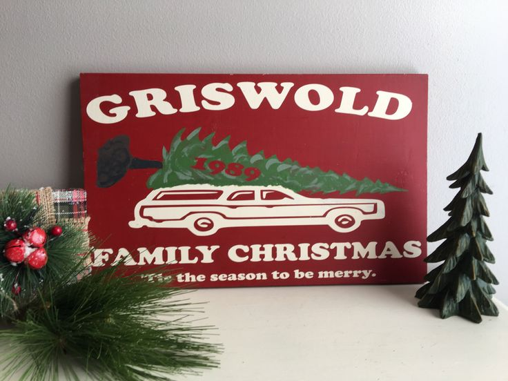 Christmas Signs - Christmas Vacation - Griswold - Christmas Wood Signs - Christmas Decorations - Christmas Decor by GrantParkDesigns on Etsy https://www.etsy.com/listing/450861398/christmas-signs-christmas-vacation