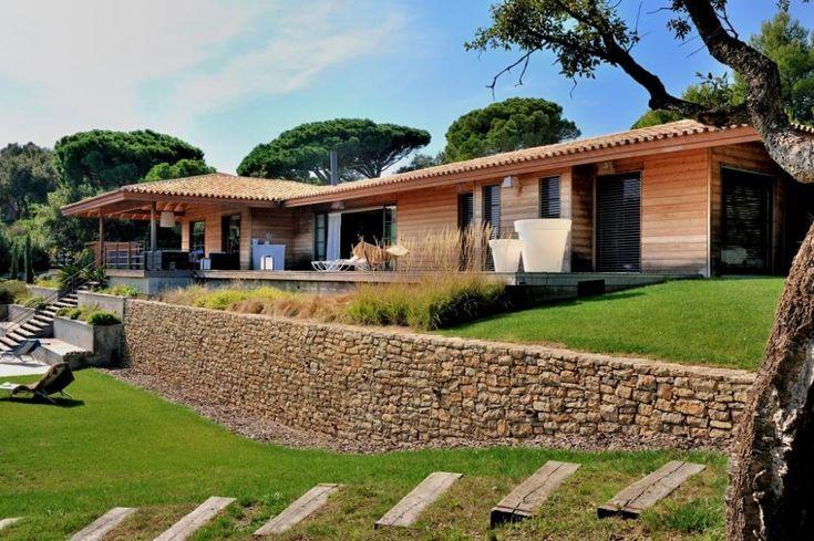 212 best plan maison images on pinterest house design for Constructeur maison bois landes