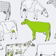 Wallcoverings For Less: Bright Lime Green Wallpaper