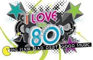 I love the 80's especially the MUSIC!!