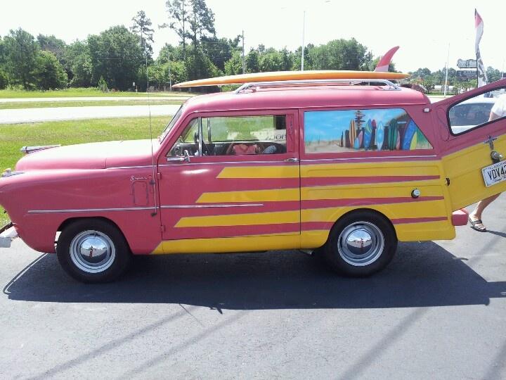 Crossly...beach wagon ...