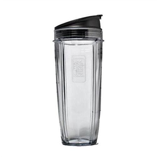 Sduck Replacement Parts for Nutri Ninja Blender Jumbo 32 oz Cup with Sip  Seal Lid For 1000w AutoiQ and Duo Blenders Nutri Ninja Blender Not for BL660 BL770 BL780 BL810 BL820 BL830 *** Continue to the product at the image link.Note:It is affiliate link to Amazon.