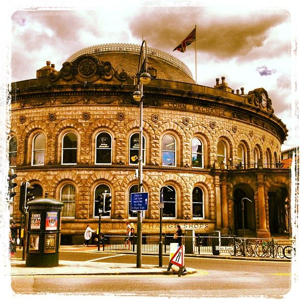 Such a pretty location, be sure to head to the Leeds Corn Exchange.