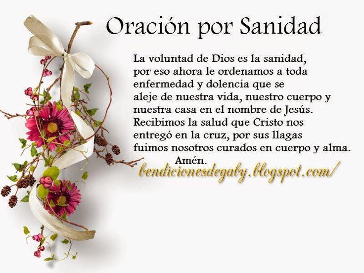 Bendiciones diarias para gozarte en el amor de Dios : Oración por Sanidad