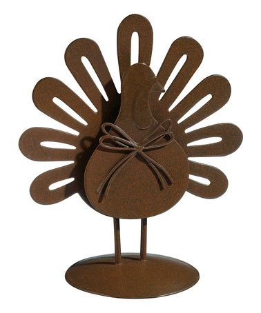 Another great find on #zulily! Turkey Place Card Holder - Set of Six #zulilyfinds