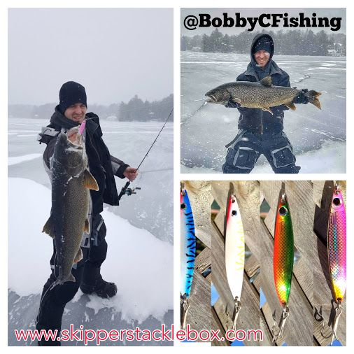 168 best ice fishing images on pinterest for Ice fishing lake trout