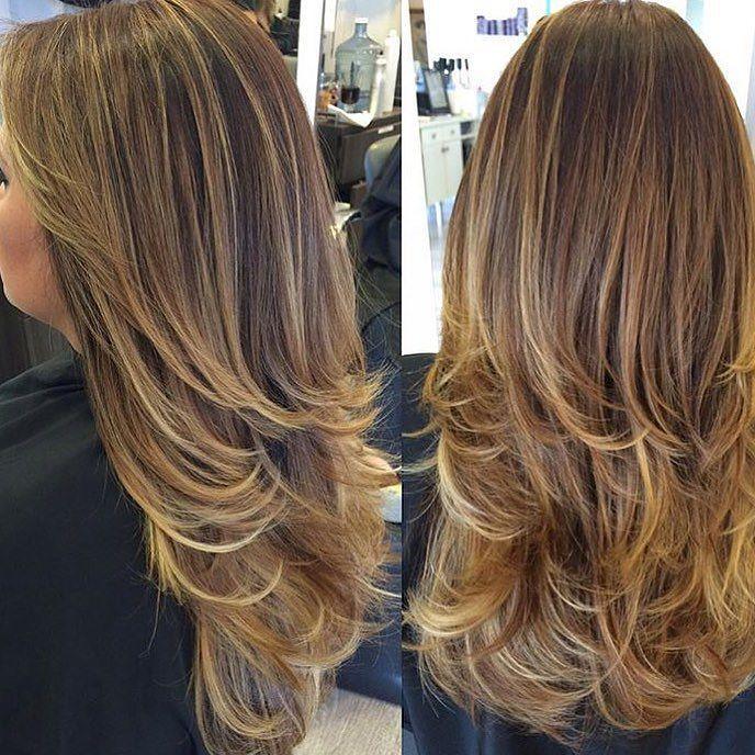 By @silcity_hair via @RepostWhiz app: Haircut and style! #haircut #cut #layers #longlayers #shortlayers #healthyhair #longhair #beauty #beautifulhair #instahair #ighair #LAhair #shermanoaks #hairsalon #beautysalon @envy_salonandspa  #hairby @silcity_hair (#RepostWhiz app) by envy_salonandspa