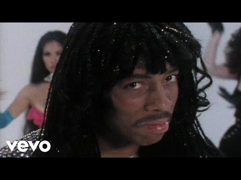 Rick James - Super Freak - YouTube | ever wondered where MC Hammer got the beat for 'can't touch it'? #sampled tracks