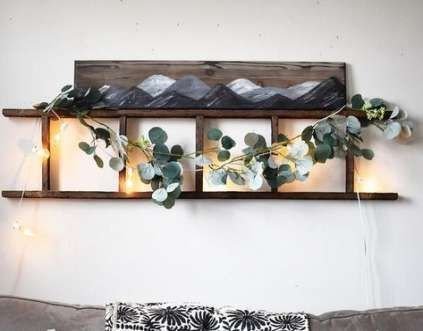 52 trendy wall shelves above couch small spaces – …
