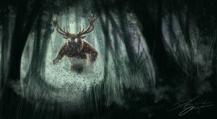 Speed sketch of Forest Demon