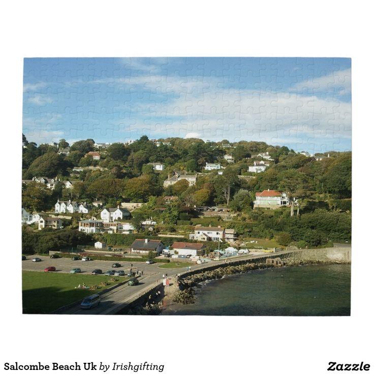 Salcombe Beach Uk Puzzle