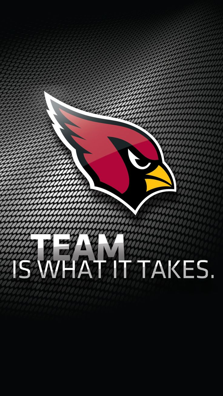 Hop on the Big Red #football bandwagon and celebrate the #NFL team that's always on your mind with this Arizona Cardinals wallpaper for your smartphone. #Verizon