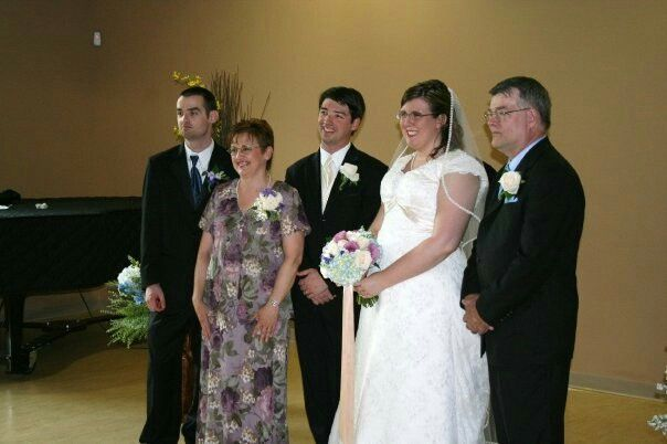 Matt (son), me, Mike (son), Laura & husband Guy
