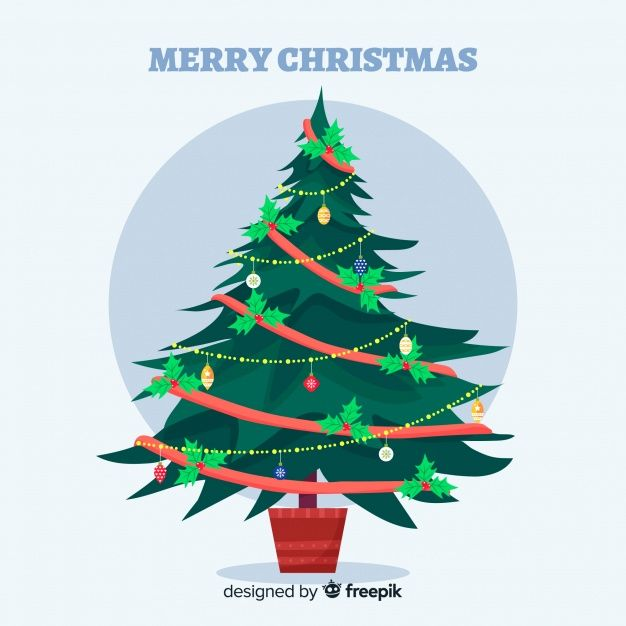 Download Christmas Tree For Free Illustrated Christmas Tree Tree Illustration Christmas Tree