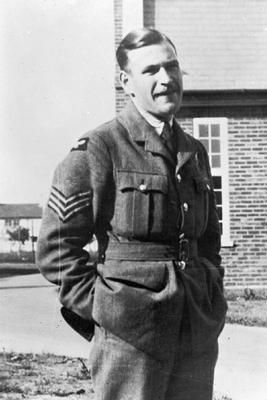 Thomas Grey, VC (posthumous) of 12 Squadron, RAF, rear gunner/navigator to Fairey Battle PH-K, who died with Flying Officer Donald Garland in that aircraft over the Maas bridgehead, 12 May, 1940. Rest in peace.