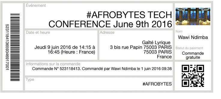 Challenge de l'#Afrique digitale: #Afrobytes Paris Tech 2016