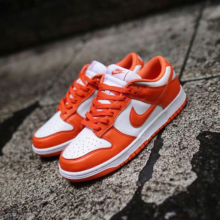 "Nike Dunk Low ""Syracuse"" CU1726-101 | Nike dunks, Nike sb shoes ..."