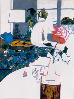 Joni Mitchell's Portrait of James Taylor