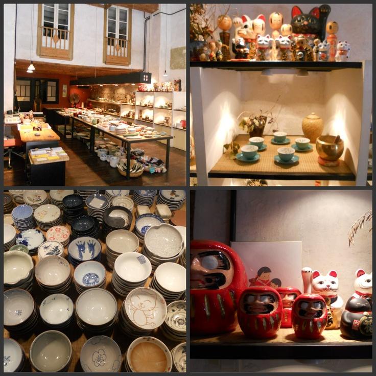 The Cafe Cat: MOMO, Japanese Ceramics, Barcelona