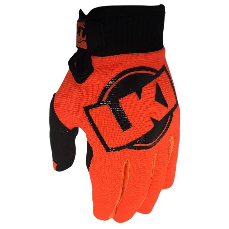Loosekid LKI Control II Fluro Orange Gloves