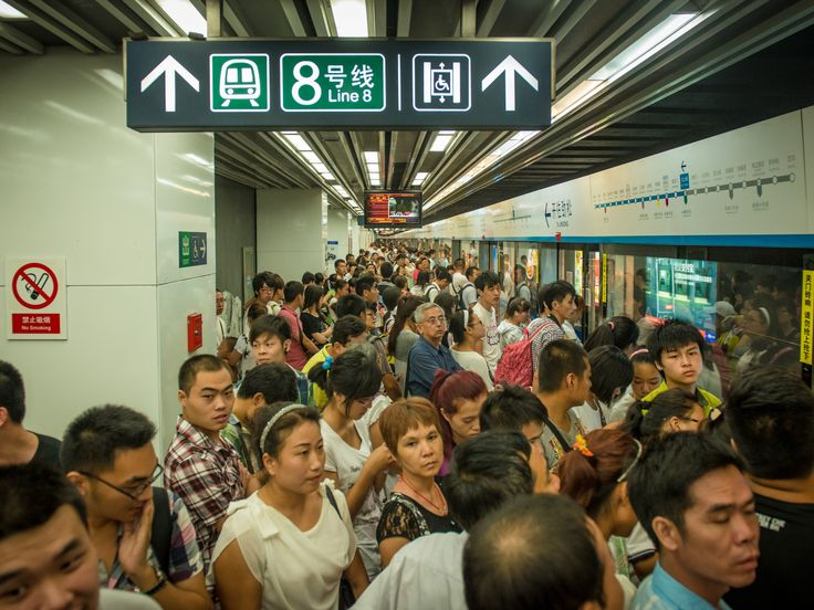 Best Beijing Subway Ideas On Pinterest Subway Map Beijing - 20 photos that show just how insanely overcrowded china is