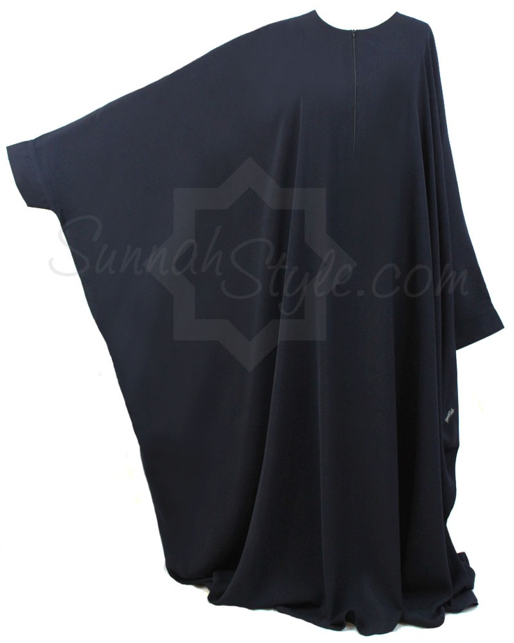 Essential Bisht Abaya (Navy Blue) by Sunnah Style #SunnahStyle #abayastyle #bisht #IslamicClothing