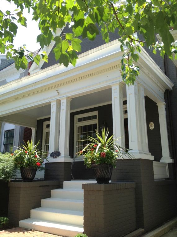 how to clean white brick house