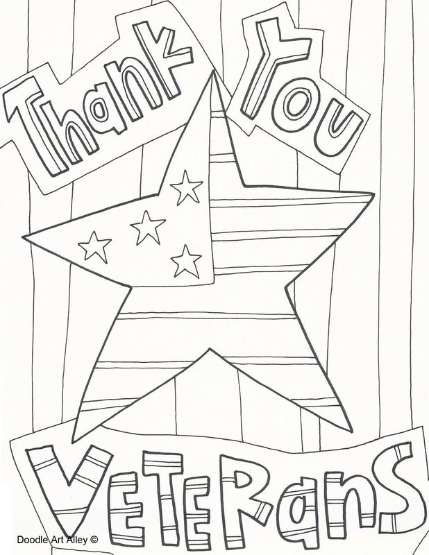 Veterans Day coloring pages from Doodle Art Alley. Print and Enjoy ...