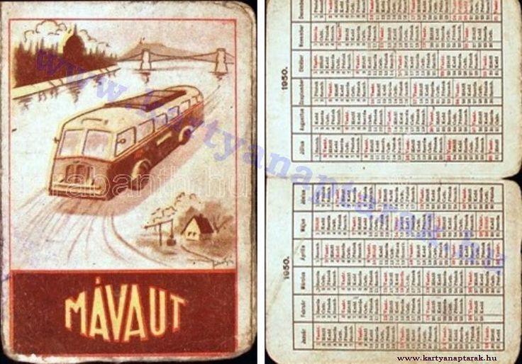 1950 - 1950_0015 - Régi magyar kártyanaptárak