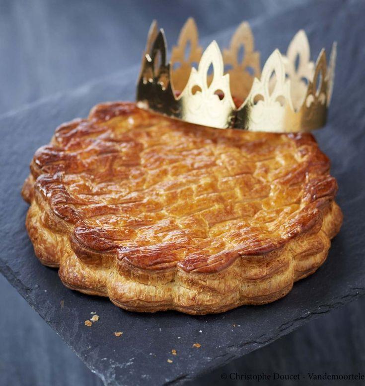 Galette des rois façon tarte tatin - les meilleures recettes de cuisine d'Ôdélices