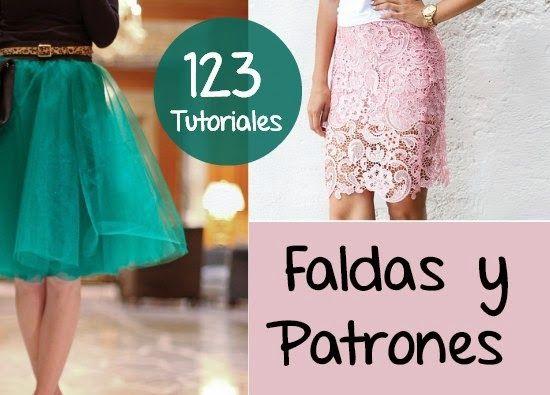 Faldas 123 Diys Tutoriales con Patrones
