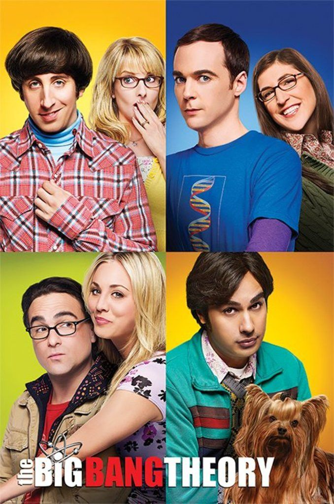 The Big Bang Theory - Blocks - Official Poster. Official Merchandise. Size: 61cm x 91.5cm. FREE SHIPPING