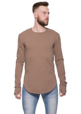 Closed sweater khaki