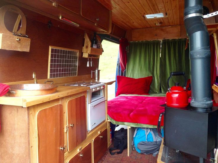 Elvira the adventurer has a beautifully simple design full of quirky touches picked up from car boot sales. Camper van hire - Bristol - Elvira - Quirky Campers