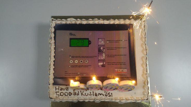 TORA 5000 Hava Su Saati Üretimini Tamamladı; 70 yılı aşkın tecrübesi ile hava su saatinin lider markası PCL'in 5000. Saatinin üretimi tamamlandı.