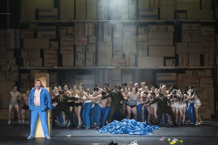 Turandot - Neal Cooper (Calaf), Eamonn Mulhall (Pong), Paul Carey Jones (Ping), Andrew Rees (Pang), The Chorus of Northern Ireland Opera - #TurandotBelfast