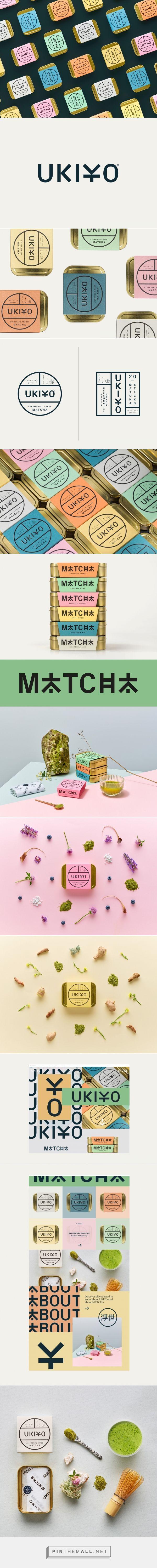 UKIYO matcha tea packaging design by IWANT design - https://www.packagingoftheworld.com/2018/04/ukiyo.html