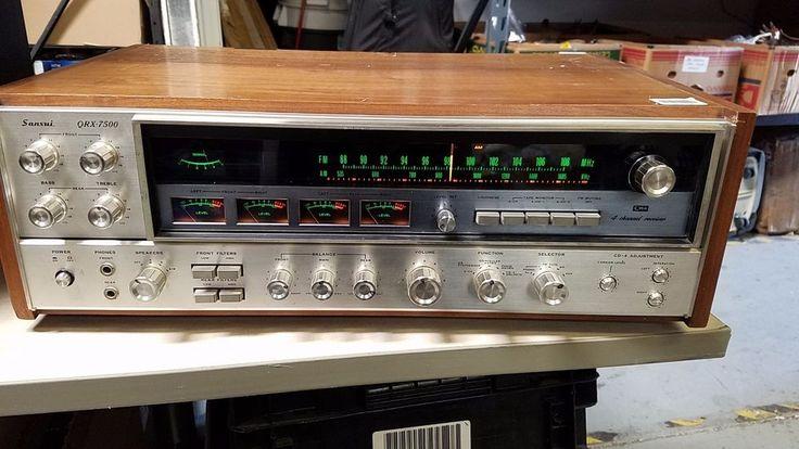 SANSUI QRX7500 Vintage Original 4-Channel Receiver Amplifier  #Sansui