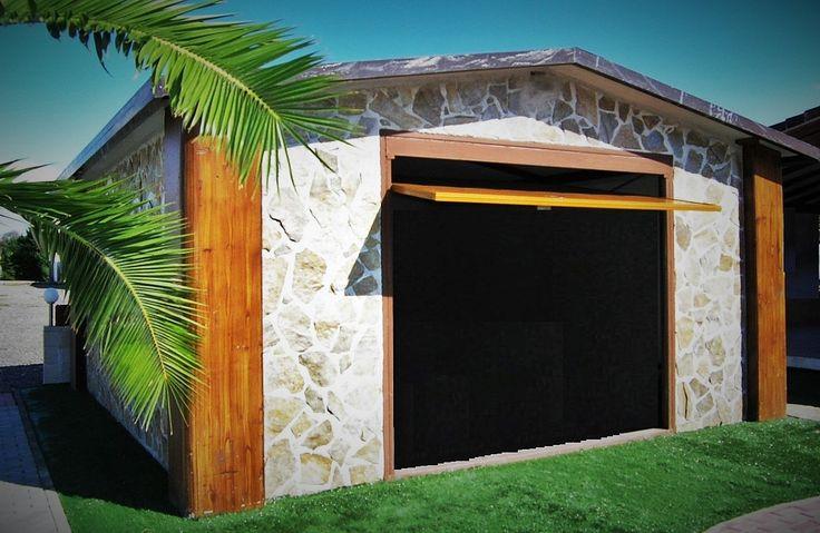 128 mejores im genes sobre mi casa del pueblo en pinterest - Garajes de madera baratos ...
