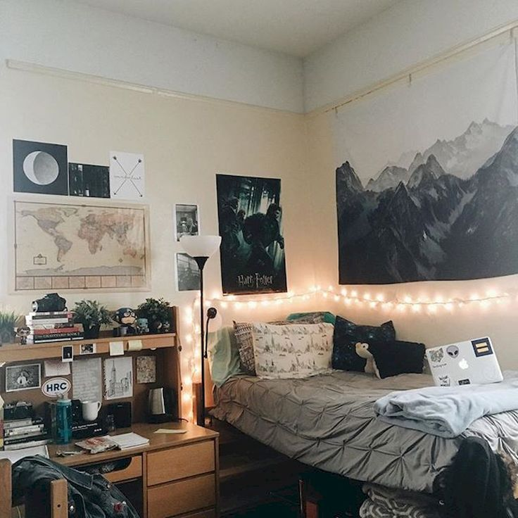 Stunning And Cute Dorm Room Decorating Ideas (56 Part 29