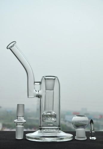 30cm Hand Blown Glass Bubbler Oil/Dab Rig