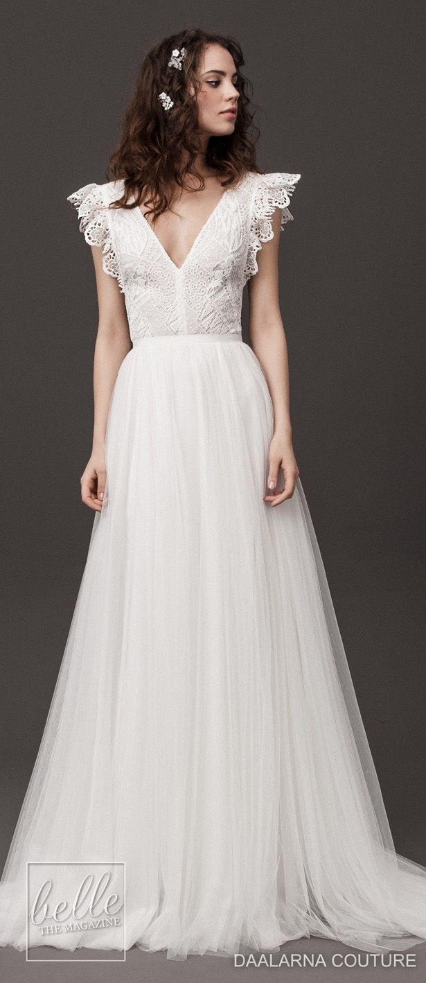 Daalarna Couture Wedding Dresses Spring 14 Rebelle Bridal