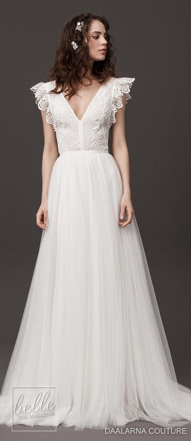 Daalarna Couture Wedding Dresses Spring 17 Rebelle Bridal