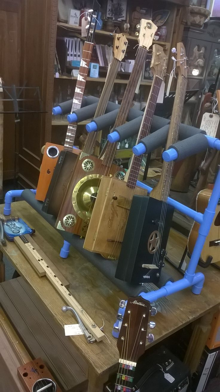 Build This Cigar Box Guitar Stand for Under $20 - Cigar Box Nation