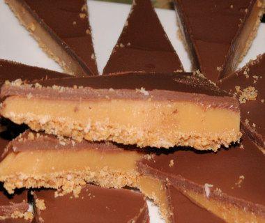 semifreddo al caramello mou e cioccolato