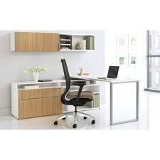 HONs Voi Laminate And Veneer Desking Features A Range Of Office Furniture Components Including Desks Credenzas L U Shaped Workstations